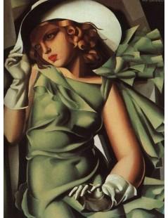 Tytuł: Dziewczyna w rękawiczkach, Autor: Tamara de Lempicka