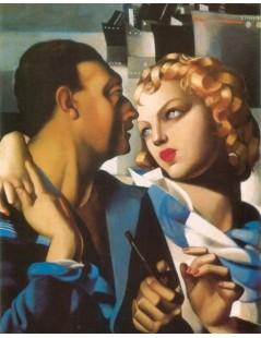 Tytuł: Idylla, Autor: Tamara de Lempicka