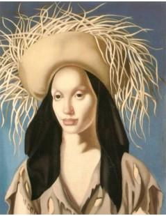 Tytuł: Meksykańska dziewczyna, Autor: Tamara de Lempicka