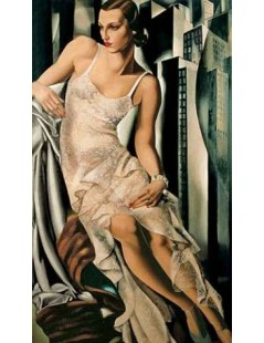 Tytuł: Portret Allan Bott, Autor: Tamara de Lempicka