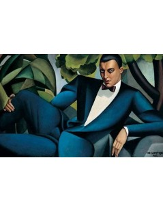 Tytuł: Portret Marquis Affitto, Autor: Tamara de Lempicka