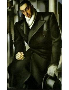 Tytuł: Portret Tadeusza de Lempickiego, Autor: Tamara de Lempicka