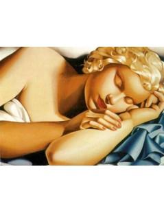 Tytuł: Śpiąca kobieta, Autor: Tamara de Lempicka