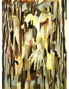 Tytuł: Surrealistyczna ręka, Autor: Tamara de Lempicka