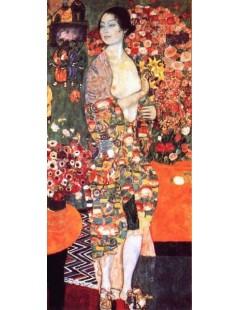 Tytuł: Tancerka, Autor: Gustav Klimt