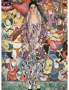 Tytuł: Portret Friedericke Maria Beer, Autor: Gustav Klimt