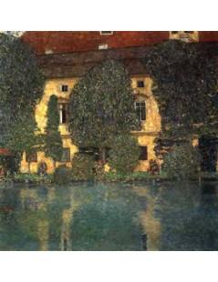 Tytuł: Pałac Kammer nad Attersee III, Autor: Gustav Klimt