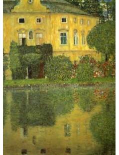 Tytuł: Pałac Kammer nad Attersee IV, Autor: Gustav Klimt