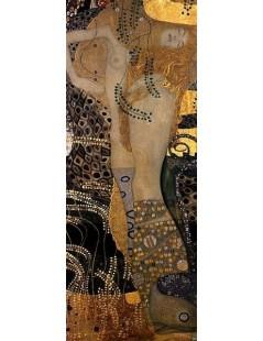 Tytuł: Węże wodne I, Autor: Gustav Klimt