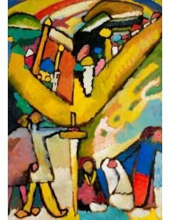 Tytuł: Study for Improvisation 8, Autor: Wassily Kandinsky