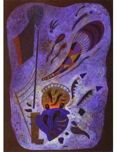 Tytuł: Zmierzch, Autor: Wassily Kandinsky