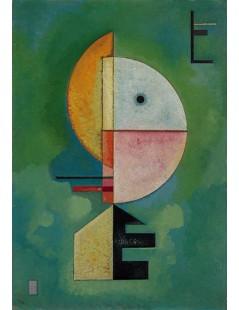 Tytuł: Upward, Autor: Wassily Kandinsky