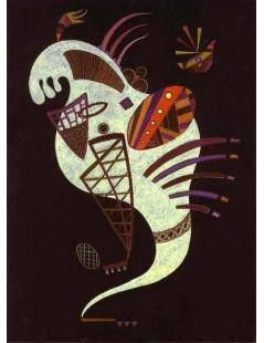Tytuł: White Figure, Autor: Wassily Kandinsky