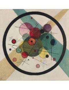 Tytuł: Kręgi w kręgu, Autor: Wassily Kandinsky