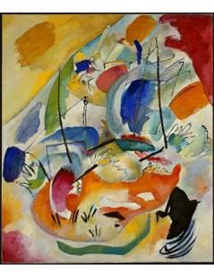 Tytuł: Improvisation 31 (Sea Battle), Autor: Wassily Kandinsky