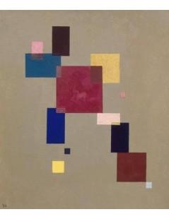 Tytuł: Trzynaście prostokątów, Autor: Wassily Kandinsky