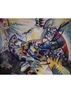 Tytuł: Blue Crest, Autor: Wassily Kandinsky