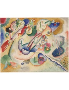 Tytuł: Improvisation, Autor: Wassily Kandinsky