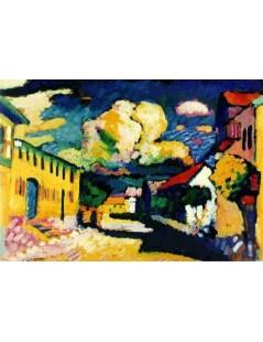 Tytuł: Murnau. A Village Street, Autor: Wassily Kandinsky