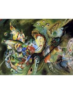 Tytuł: Overcast, Autor: Wassily Kandinsky