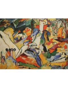 Tytuł: Studium nad kompozycją II, Autor: Wassily Kandinsky