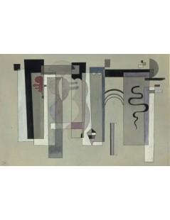 Tytuł: Surfaces meeting, Autor: Wassily Kandinsky