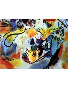 Tytuł: ostatni wyrok, Autor: Wassily Kandinsky