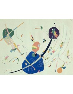 Tytuł: Vers le bleu, Autor: Wassily Kandinsky