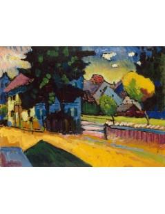 Tytuł: Widok na Murnau, Autor: Wassily Kandinsky