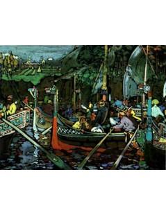 Tytuł: Volga Song, Autor: Wassily Kandinsky
