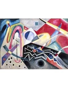 Tytuł: Biały zygzak, Autor: Wassily Kandinsky