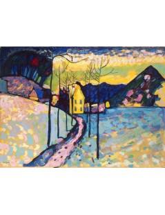 Tytuł: Winter Landscape, Autor: Wassily Kandinsky