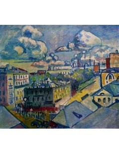 Tytuł: Moscow. Zubovskaya Square. Study, Autor: Wassily Kandinsky