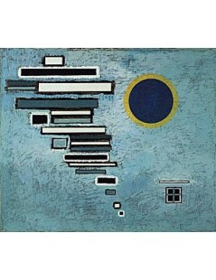 Tytuł: Unequal, Autor: Wassily Kandinsky