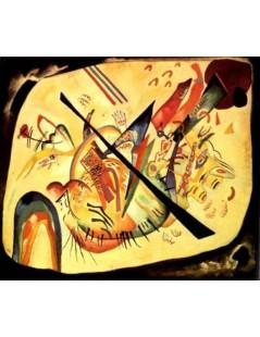 Tytuł: Biały owal, Autor: Wassily Kandinsky