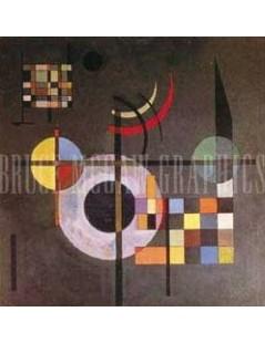 Tytuł: Grawitacja, Autor: Wassily Kandinsky