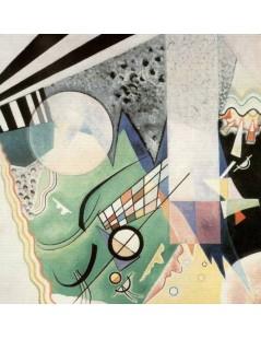 Tytuł: Zielona kompozycja, Autor: Wassily Kandinsky