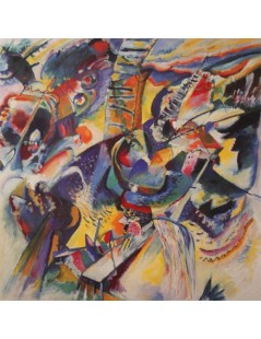 Tytuł: Improvisation. Gorge, Autor: Wassily Kandinsky