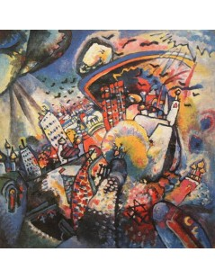Tytuł: Moskwa I, Autor: Wassily Kandinsky