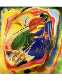 Tytuł: Obraz z trzema miejscami, Autor: Wassily Kandinsky