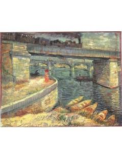 Mosty na Sekwanie w Asnieres