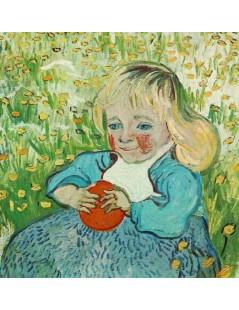 Dziecko z pomarańczą