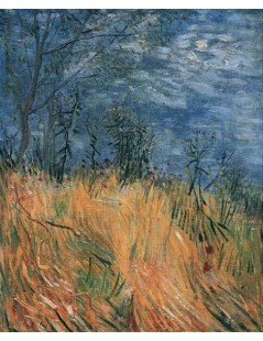 Tytuł: Pole pszenicy z makami, Autor: Vincent van Gogh