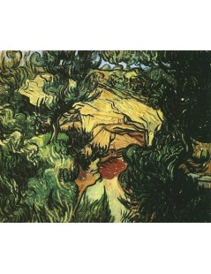Tytuł: Wejście do kopalni, Autor: Vincent van Gogh