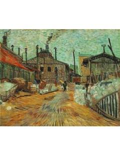 Fabryka w Asnieres