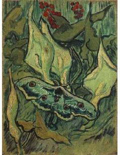 Tytuł: Wielka ćma pawia, Autor: Vincent van Gogh