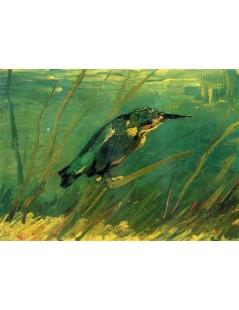 Tytuł: Zimorodek, Autor: Vincent van Gogh