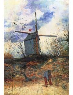 Tytuł: Wiatrak Galette I, Autor: Vincent van Gogh