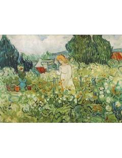 Marguerite Gachet w ogrodzie