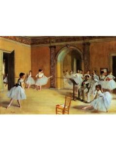 Foyer baletu w Operze